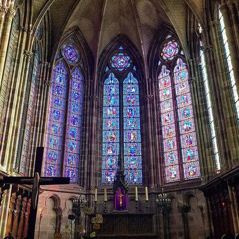 Visiter la Basilique Saint Pierre, Luxeuil-les-Bains